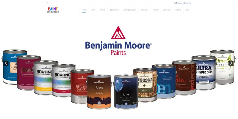 New Website for Days Paint